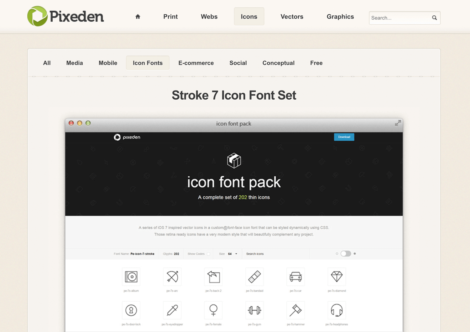 Free app icons to download - Pixeden