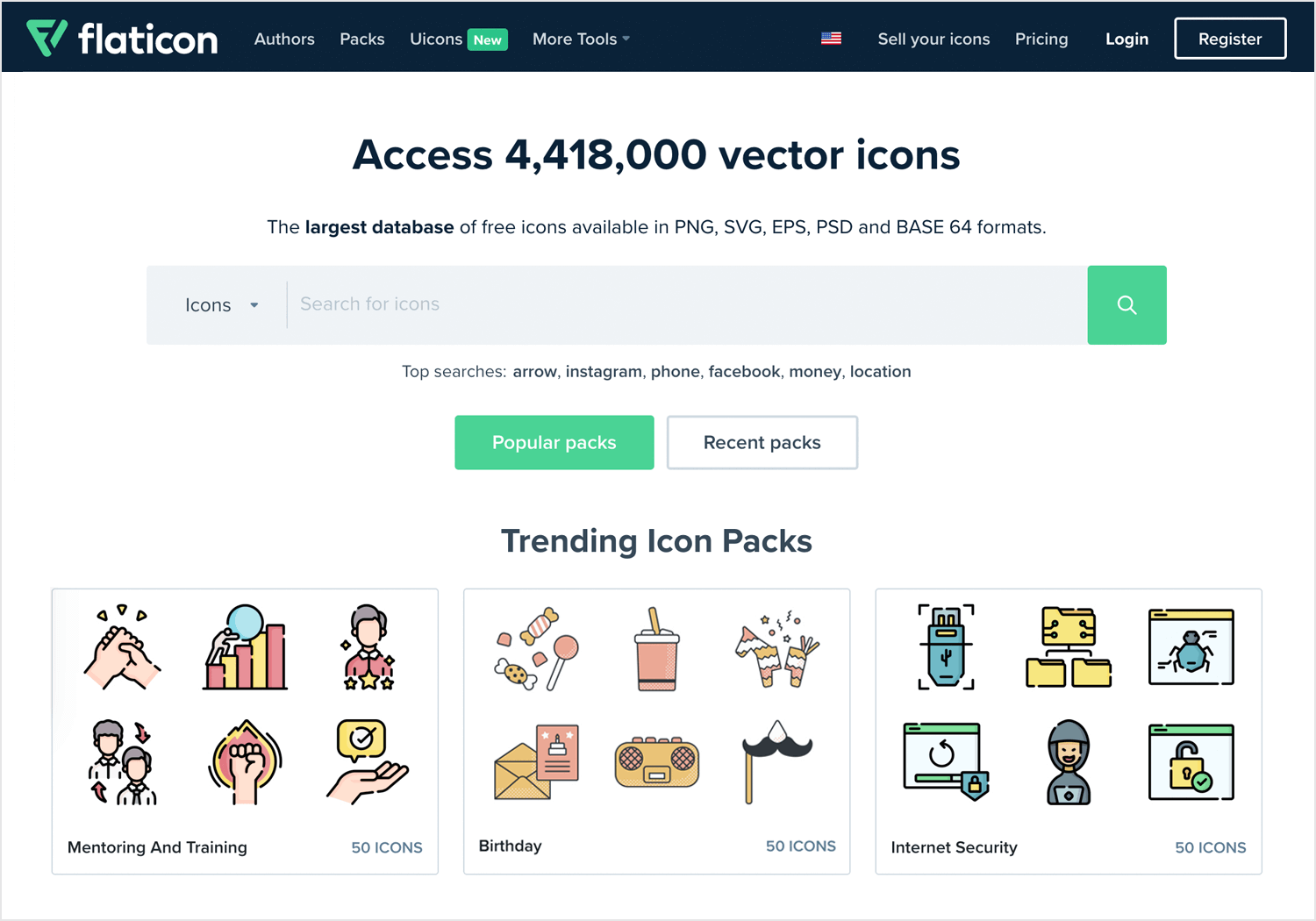 Free website icons to download - Flaticon