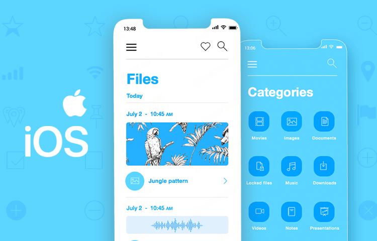 iOS Icons UI kit - intuitive iOS design - Justinmind