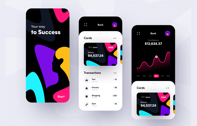 Banking app design: 10 great patterns and examples
