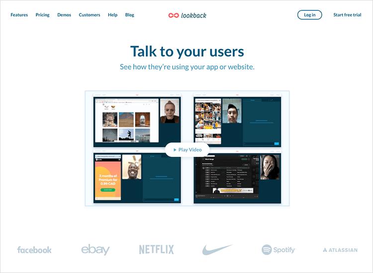 lookback usability testing tool