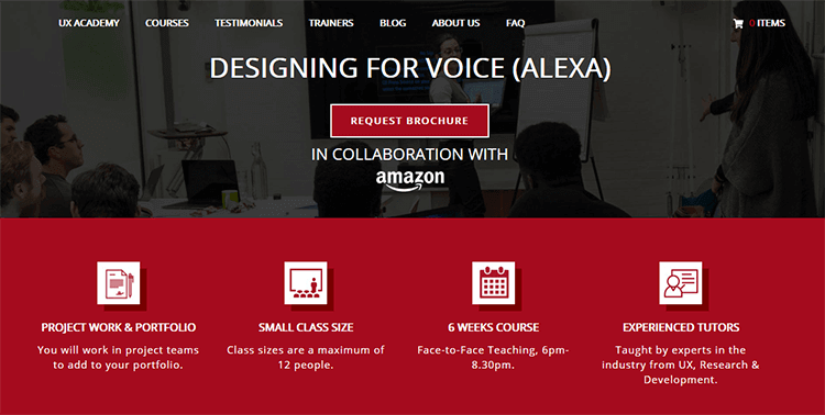 voice user interface design course at MyUXacademy